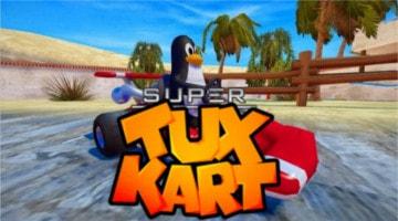 Ubuntuでゲームプレイ!Super Tux Kart