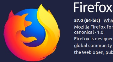 爆速Firefox 57「Quantum」がリリース! UbuntuやFedoraにも提供開始