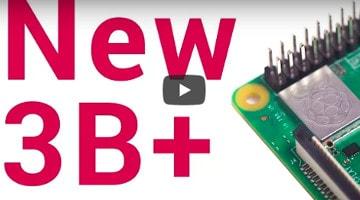 2018年最新版となるRaspberry pi3 Model B+が発表